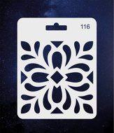 ПКФ Созвездие 051554 Трафарет 116 Узор