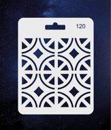 ПКФ Созвездие 051558 Трафарет 120 Орнамент