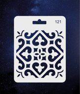ПКФ Созвездие 051559 Трафарет 121 Узор