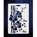 ПКФ Созвездие 051569 Трафарет 131 Орхидеи