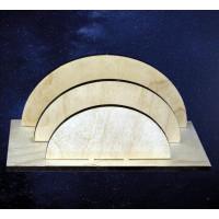 ПКФ Созвездие 146639 Подставка для бумаг полукруглая