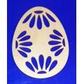 ПКФ Созвездие 147308 Подвеска Яйцо с ромашками