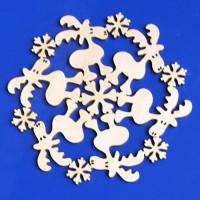 ПКФ Созвездие 150755 Снежинка №33 Лоси