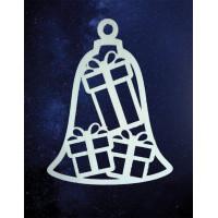 ПКФ Созвездие 151138 Подвеска Колокольчик с подарками