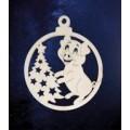 ПКФ Созвездие 151498 Подвеска Поросенок с елкой в шарике