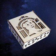 ПКФ Созвездие 151507 Шкатулка Поросенок в окошке