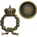Spellbinders GL1-001 Заготовки для украшений «Regal Wreath» (Бронза)