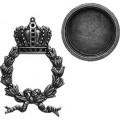 Spellbinders GL1-001S Заготовки для украшений «Regal Wreath - Silver» (Серебро)