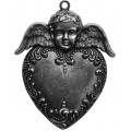 Spellbinders GL2-001S Заготовки для украшений «Heart Angel» (Серебро)