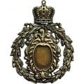 Spellbinders GL2-002 Заготовки для украшений «Crowned Mediallion» (Бронза)