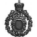 Spellbinders GL2-002S Заготовки для украшений «Crowned Mediallion» (Серебро)
