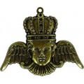 Spellbinders GL2-004 Заготовки для украшений «Crowned Angel» (Бронза)