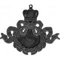 Spellbinders GL2-006S Заготовки для украшений «Ribbon Wreath - Silver» (Серебро)