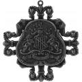 Spellbinders GL2-007S Заготовки для украшений «Family Crest - Silver» (Серебро)