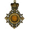 Spellbinders GL2-008 Заготовки для украшений «Royal Mediallion» (Бронза)