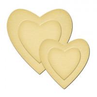 Spellbinders GLD-001 Набор мини-ножей для вырубки «Hearts»