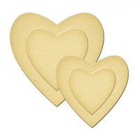 Spellbinders GLD-001_1 Набор мини-ножей для вырубки «Hearts»
