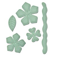 Spellbinders GLD-014_1 Набор мини-ножей для вырубки «Garden Blooms»