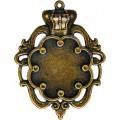 Spellbinders GLLB-003G Заготовки для украшений «Crown Bezel-Large-Bronze» (Бронза)