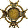 Spellbinders GLLB-005G Заготовки для украшений «Iron Cross Bezel-Large-Bronze»