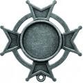 Spellbinders GLSB-005S Заготовки для украшений «Iron Cross Bezel-Small-Silver» (Серебро)