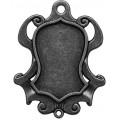 Spellbinders GLSB-006S Заготовки для украшений «Shield Bezel-Small - Silver» (Серебро)