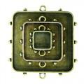 Spellbinders MB1-002 Заготовка для украшения Квадраты 1 (Бронза)