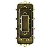 Spellbinders MB1-003 Заготовка для украшения Прямоугольники 1 (Бронза)