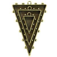 Spellbinders MB1-004 Заготовка для украшения Треугольники 1 (Бронза)