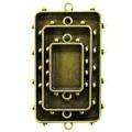 Spellbinders MB1-008 Заготовка для украшения Прямоугольники 2 (Бронза)