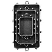 Spellbinders MB1-008S Заготовка для украшения Прямоугольники 2 (Серебро)