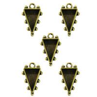 Spellbinders MB1-504 Заготовка для украшения Треугольники 1 (Бронза)