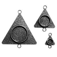 Spellbinders MB2-004S Заготовка для украшения Треугольники 3 (Серебро)