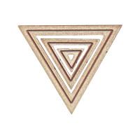 Spellbinders MD1-009 Набор ножей Треугольники 2