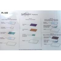 Spellbinders PL-102 Платформа стандартная Spellbinders Platinum™ 21,9см х 32,9см х 1,6см