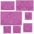"""Spellbinders S4-382 Набор ножей Spellbinders® Enhanceabilities® """"Бабочки и цветы"""""""