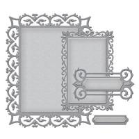 Spellbinders S4-594 Набор ножей Spellbinders® Nestabilities® Card Creator «Ренессанс:  Виноградная лоза»