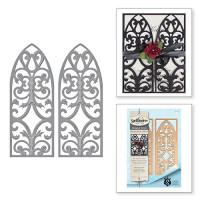 Spellbinders S5-271 Набор ножей Spellbinders® Nestabilities® Card Creator «Юбилей Ренессанса: Венецианская калитка»