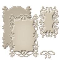 "Spellbinders S6-017_1 Набор ножей Shapeabilities® Decorative Frames ""Поклон элегантности"""