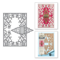 Spellbinders S6-089_1 Набор ножей Spellbinders® Nestabilities® Card Creator «Ботаническое блаженство: Красота»
