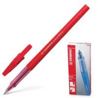 """STABILO 808/40 Ручка шариковая STABILO """"Liner"""", КРАСНАЯ, корпус красный, узел 0,7 мм, линия письма 0,3 мм, 808/40"""