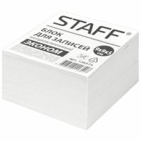 STAFF 126574 Блок для записей STAFF, непроклеенный, куб 9х9х5 см, белизна 70-80%, 126574