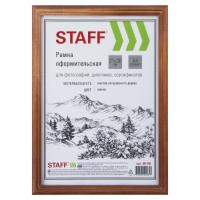 STAFF 391140 Рамка 21х30 см, дерево, багет 17 мм, STAFF, мокко, стекло, 391140
