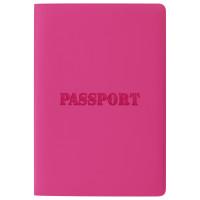 """STAFF  Обложка для паспорта STAFF, мягкий полиуретан, """"ПАСПОРТ"""", розовая, 237605"""