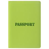 """STAFF  Обложка для паспорта STAFF, мягкий полиуретан, """"ПАСПОРТ"""", салатовая, 237607"""