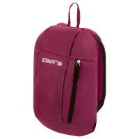 STAFF  Рюкзак STAFF AIR компактный, бордовый, 40х23х16 см, 270290