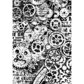 """Stamperia DFSA4171 Бумага рисовая мини-формат  """"Механизмы"""""""