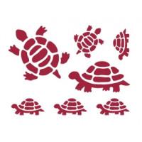 Stamperia KSD18 Трафареты черепахи