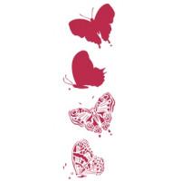 Stamperia KSF019 Трафареты бабочки