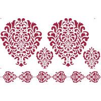 Stamperia Трафареты Stamperia, арабские мотивы, 1 шт, 30*44 см Трафареты Stamperia, арабские мотивы, 1 шт, 30*44 см